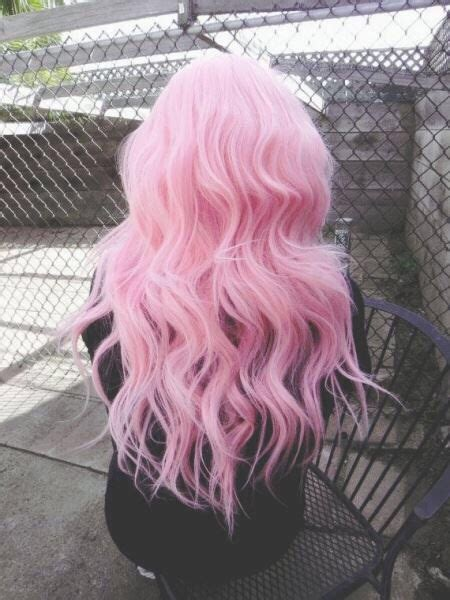 light pink wavy hair pictures   images  facebook tumblr pinterest  twitter