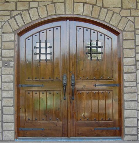 Arched Front Entry Doors Knotty Alder Arched Door Entry Traditional Front Doors Minneapolis By Woodmax Llc