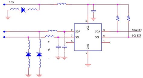 esd diode i2c the importance of layout in esd suppressing diodes interference technology