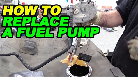 how do you replace a fuel pump and filter on 1991 chevy how to replace a fuel pump youtube