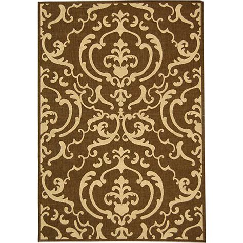 Jcpenney Outdoor Rugs Courtyard Allover Scrolls Indoor Outdoor Rectangular Rugs Jcpenney