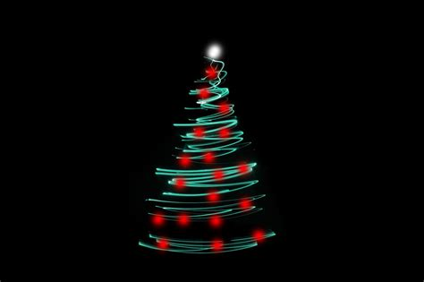 photo christmas tree light free christmas images