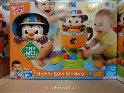 Bright Starts Hide And Spin Monkey bright starts hide n spin monkey