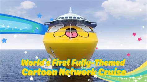 cartoon network boat cartoon network wave world s first cn themed cruise
