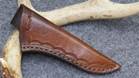 Handmade Leather Knife Sheaths - cline knives knives sheaths