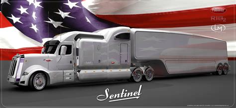 concept semi truck peterbilt sentinel by vasilatos ianis at coroflot com