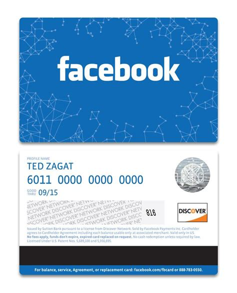 Redeem Gift Card Facebook - facebook rolls out the quot facebook card quot the social clinic