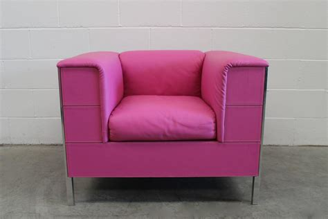 pink leather sofa for sale poltrona quot talus quot armchairs and quot massimo quot footstool in