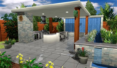 3d Home Landscape Design 5 | architect 3d garden and exterior 2017 v19 plan design