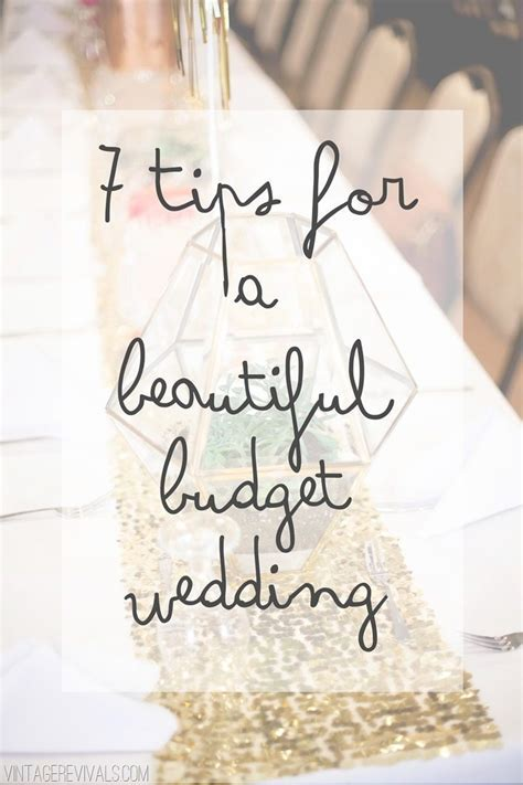 7 Tips To Pull Off A Budget Wedding (and Pictures