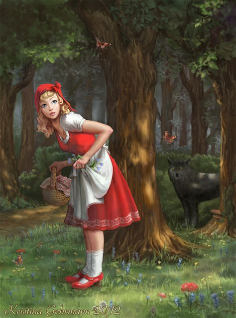 little red greatandgloriouseggrolls little red riding hood