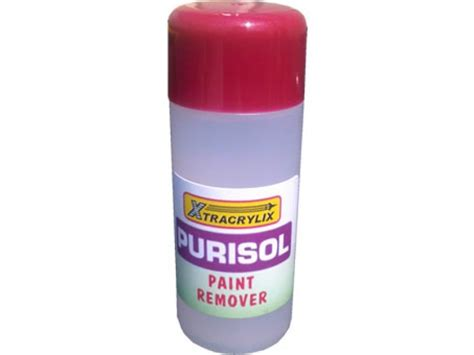 acrylic paint remover xtracrylix purisol acrylic paint remover