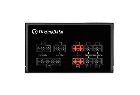 Thermaltake Toughpower Grand Rgb 650w 80 Gold Modular Analog thermaltake toughpower grand rgb 650w 80 gold certified fully modular atx power supply ps