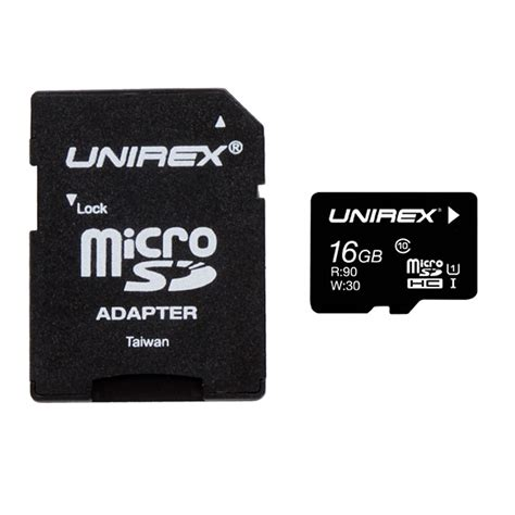 Micro Sd Vgen 16gb Turbo Series Adapter Class 10 unirex microsd high capacity 16gb class 10 with sd adapter and usb reader ebay