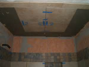 how to install a shower in the ceiling how to install tile on a shower ceiling