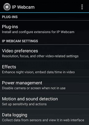 how to use android camera app as webcam step by step