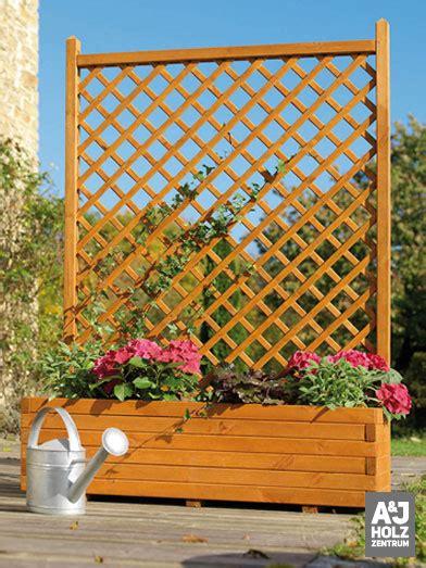 Blumenkasten Für Balkon by Blumenkasten Mit Rankgitter Holz Obi Bvrao