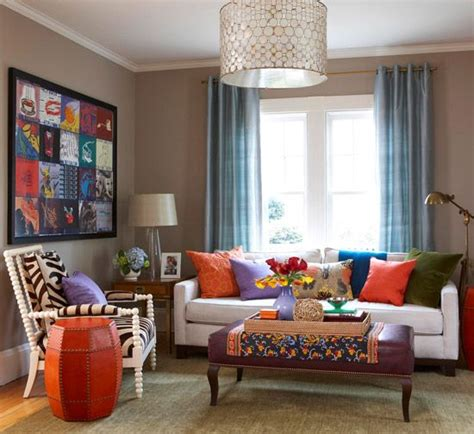 how to add color to a neutral living room add color to your living room