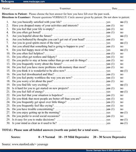 free printable depression questionnaire depression questionnaire form pictures to pin on pinterest