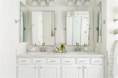 elegant mirrors bathroom white bathroom plan with stylish pivot mirrors using