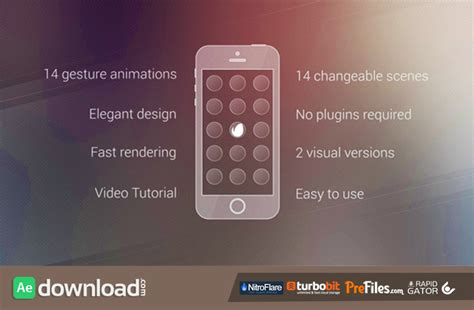 after effects free promo templates elegant app promo videohive free download free after