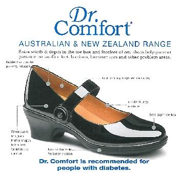 Dr Comfort Shoes Instore Only Diabetes Christchurch