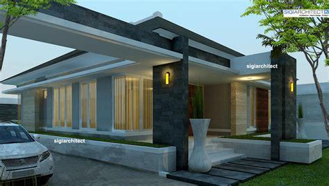 desain rumah resort modern rumah minimalis modern semi resort di pekanbaru riau