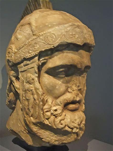 ares mars statue greek roman god of war figure bronze 12 5 polyvore head of mars roman god of war probably a copy of statue of