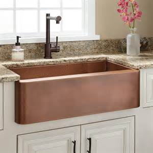 30 quot raina copper farmhouse sink