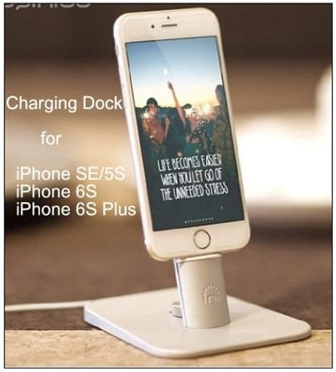 best charging dock for iphone se: safe mode holder