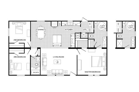 manufactured home plans mobile home floor plans