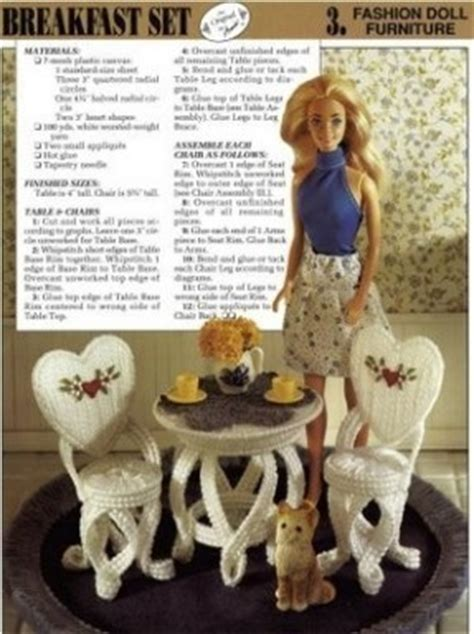 fashion doll furniture set plastic dollhouse furniture sets thing