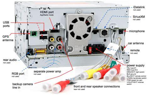 pioneer appradio 2 wiring diagram pioneer avh p4400bh