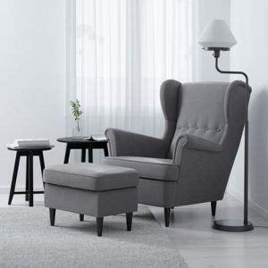 fauteuil gris confortable avec repose pied assorti pas