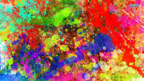 wallpaper colorful portrait colorful paint splatters colourful paint pinterest