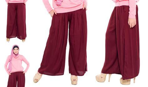 Celana Rok Muslim 99 model rok celana wanita kulot batik span pesta panjang pendek gemuk terpopuler