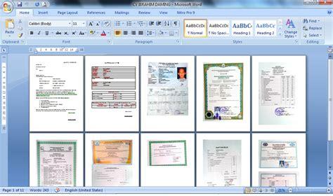 cara membuat lamaran kerja file pdf cara membuat lamaran kerja cv ke dalam bentuk pdf ibher 16