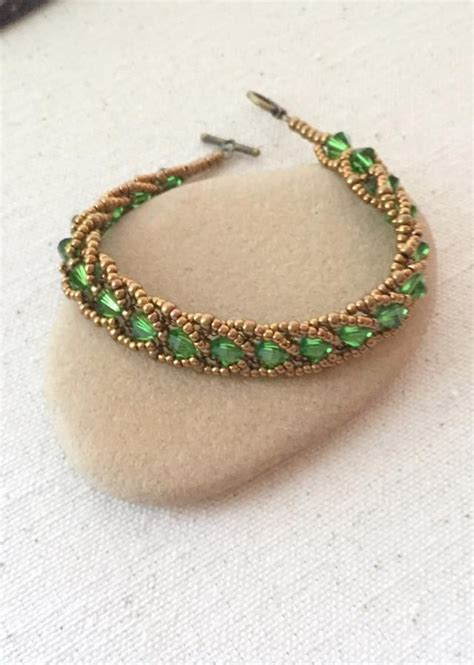 best 25 beaded bracelets ideas on seed bead