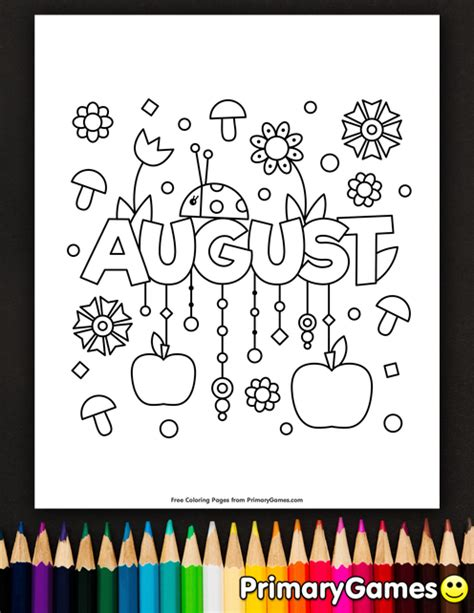 summer coloring pages  august summer coloring pages spring coloring pages coloring pages