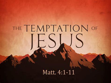 Trust Temptation the trial of our faith