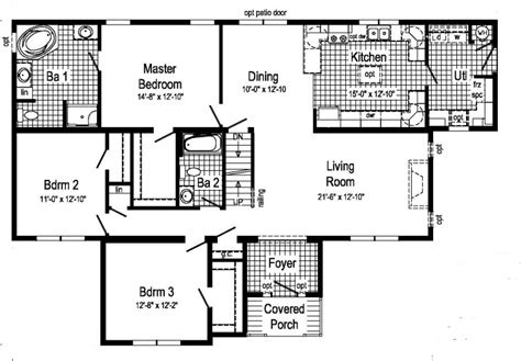 typical house floor plan dimensions learn to interpret the listed dimensions of modular plans