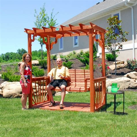 Cedar Pergola Swing Sam S Club Garden Pinterest