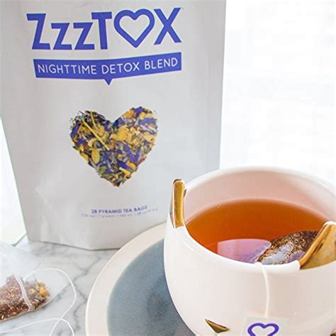 Nighttime Detox Tea by Skinnyfit Zzztox Nighttime Detox Fight Bloating And