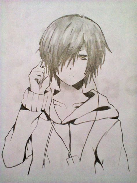 Anime Drawing by Cool Anime Drawings Pencil Drawing