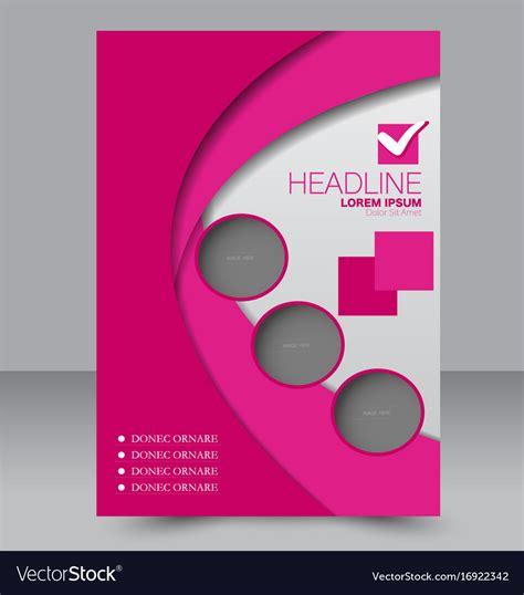 background brochure templates flyer design background brochure template vector image