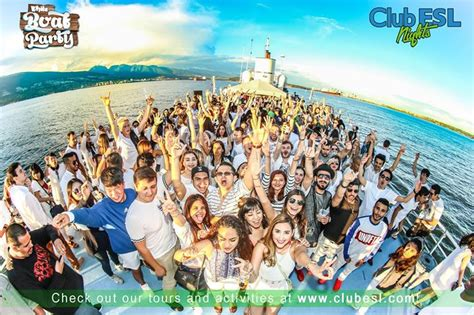 party on a boat vancouver club esl white boat party at 750 pacific blvd vancouver