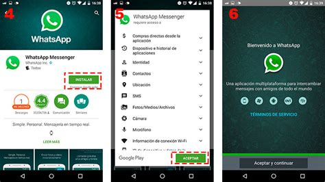 Tutorial Descargar Whatsapp Android | 191 c 243 mo instalar whatsapp messenger para android