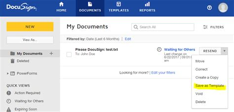 Docusignapi Save Docusign Document As Template Through Api Stack Overflow Create Docusign Template