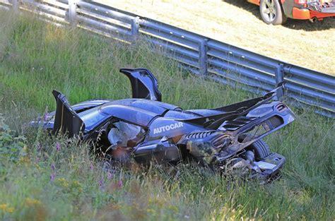 koenigsegg one 1 crash koenigsegg one 1 n 252 rburgring crash car will go for record