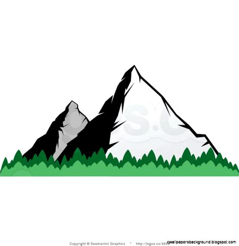 mountain clipart abstract mountain clip 11
